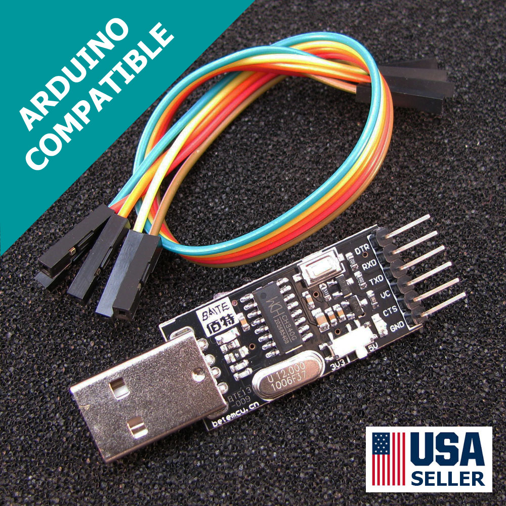 Arduino Pro Mini Usb Programmer Newest Design Fast Shipping Cable Wiring Diagram Also Pic Circuit On To Ch340g Uart Ttl