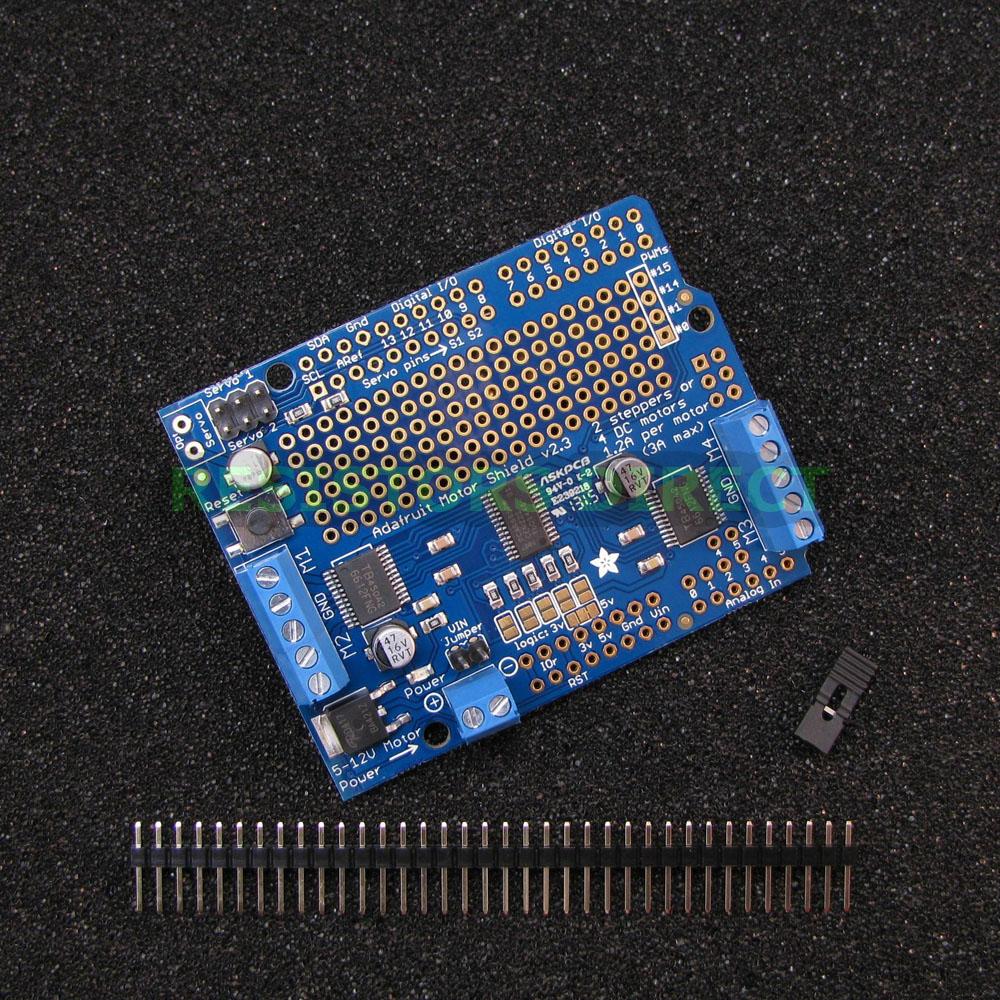 Details about Adafruit Motor-Stepper-Servo-Robot Shield Arduino I2C Kit  v2 3 w/PWM Driver G39