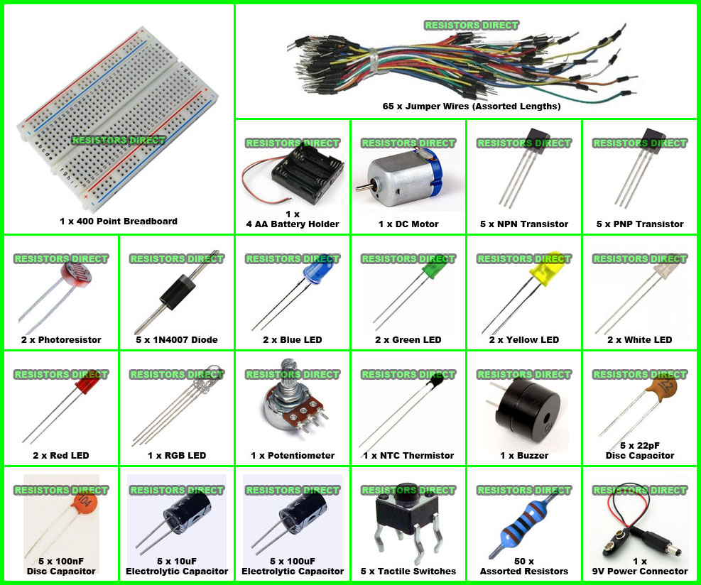 Modern 9v Led Wiring Diagram Illustration - Electrical and Wiring ...