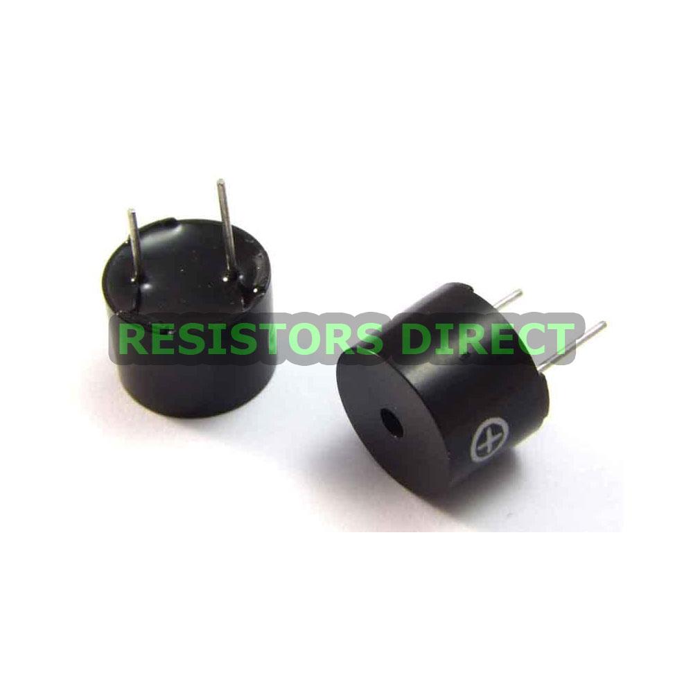 5PCS Universal Passive Buzzer 16 ohm 2KHz Sounder Alarm Ringer