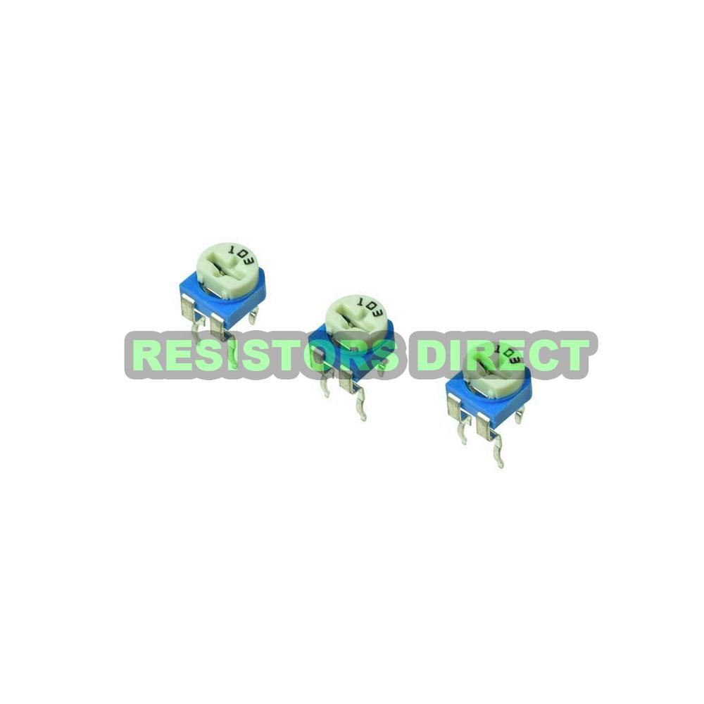 20pcs 10K Ohm Variable Resistor Horizontal Trimpot Trimmer Potentiometer 103 D11